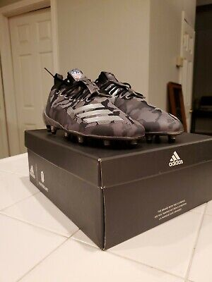 Adidas x Bape Football Cleat Core Black Camo Superbowl A Bathing Ape EE7074
