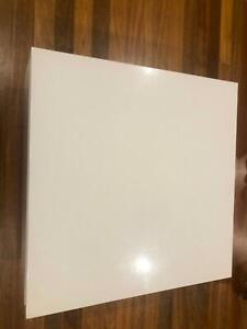 White custom made coffee table
