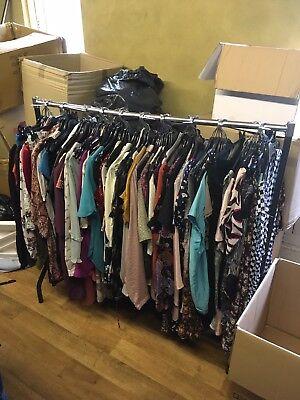 Joblot Wholesale Bundle 50 Used Ladies Tunics Blouses Tops