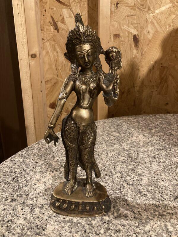 Tibetan Tara Statue (Brass)
