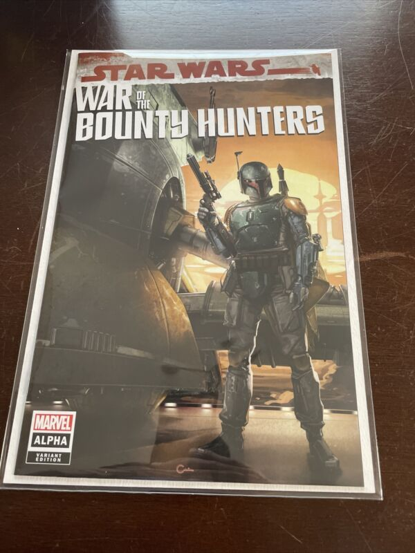 STAR WARS WAR OF THE BOUNTY HUNTERS ALPHA 1 CLAYTON CRAIN TRADE Marvel