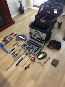 New tools for sale and roll tool box