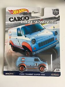 Hot Wheels Car Culture Cargo Carriers Ford Transit Super Van