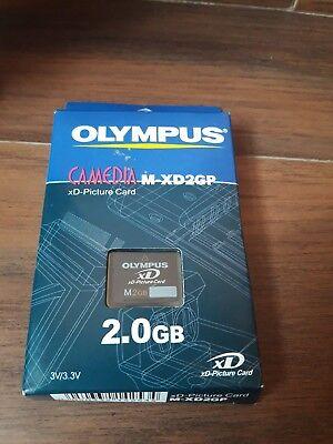 Tarjeta de Memoria XD Olympus M 2GB