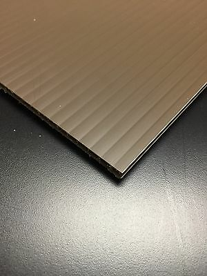 10 Pcs 4mm Brown 24 In X 12 In Corrugated Plastic Coroplast Sheets Sign