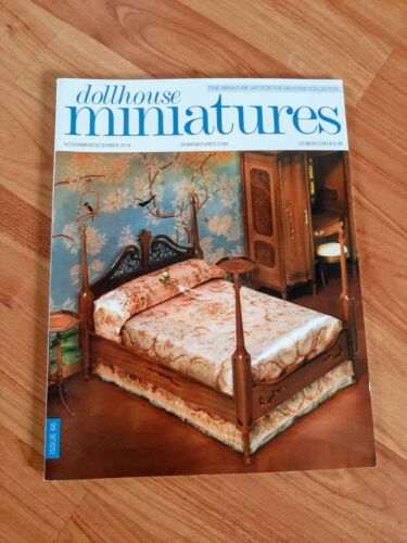 Dollhouse Miniatures Magazine Issue 66 Nov/Dec 2018 **Free Shipping**