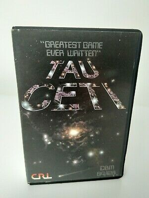 TAU CETI - Commodore 64 - C64 - Cassette - Clamshell - Tested