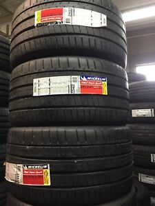 305/30r19; 285/35r19; 255/35r19 Michelin pilot supersport tire