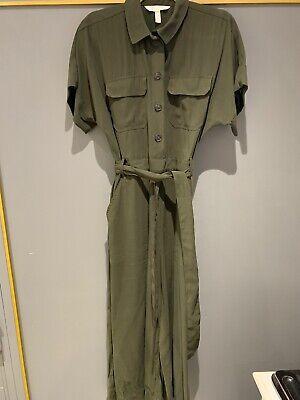 Khaki Green Jumpsuit