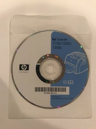 hp software (HP Laserjet 1150/1300/1300n) Version 1.0