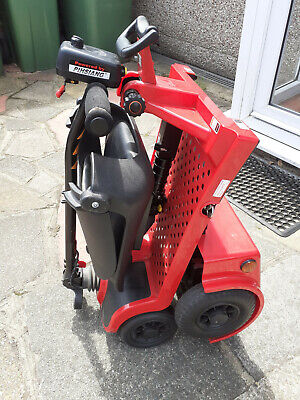 Pro Rider Easyfold Deluxe Portable Mobility Scooter Red