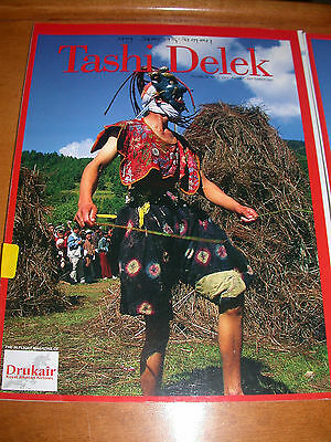 Tashi Delek Drukair Kingdom Of Bhutan Magazine September 2007 Dzongs Thangbi