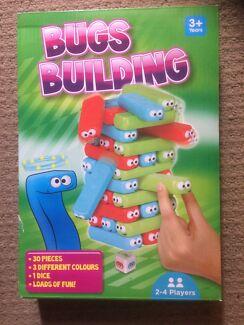 Bugs Building (kids jenga) board game