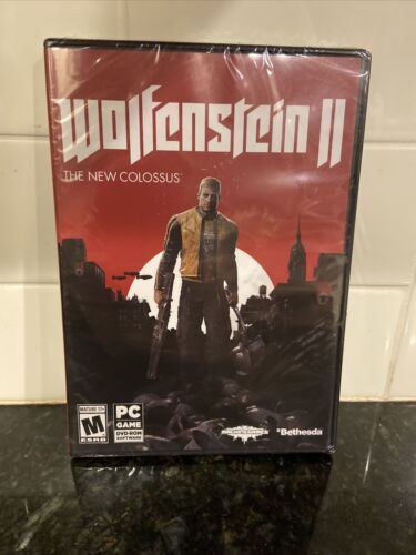 Computer Games - Wolfenstein II: The New Colossus Windows PC Computer Game BRAND NEW SEALED