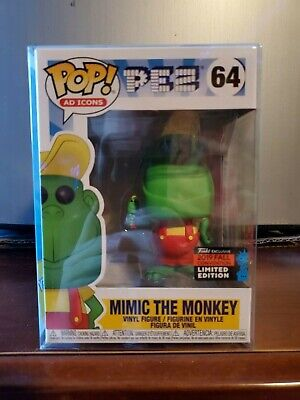 Funko 64 Pop! Ad Icons Pez Mimic the Monkey NYCC Exclusive
