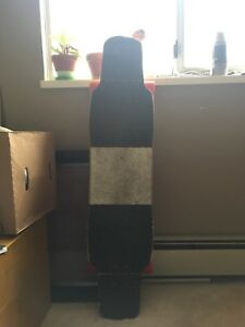 Very loved longboard