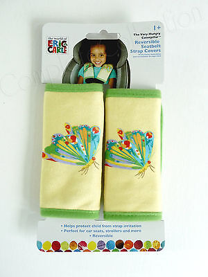 Hungry Hungry Caterpillar (The Very Hungry Caterpillar BUTTERFLY Reversible Seatbelt Strap Cover ERIC)