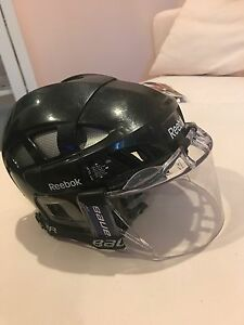 Reebok 7k hockey helmet with visor