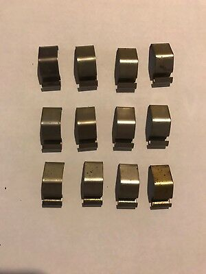 Lot Of 12 Code 3 Excalibur 2100 Rx2700 360 Mx7000 Lightbar Dome Lens Cover Clips