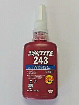 Loctite 243 Medium Strength Threadlocker Adhesive 50 Ml