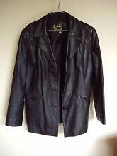Women's tailored leather jacket – size 14 Beaumaris Bayside Area Preview