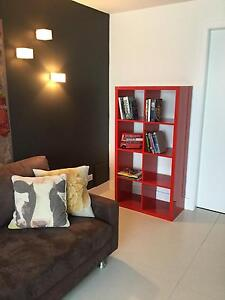 Red gloss Bookcase Northbridge Willoughby Area Preview