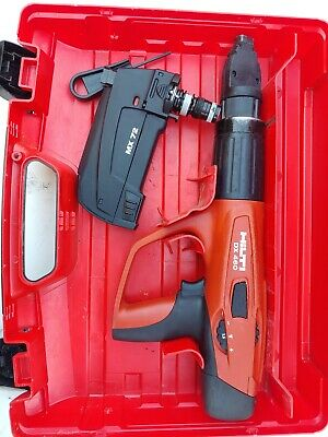 Hilti Dx-460 Powder Actuated Nail Gun W Case And Mx 72 Magazine