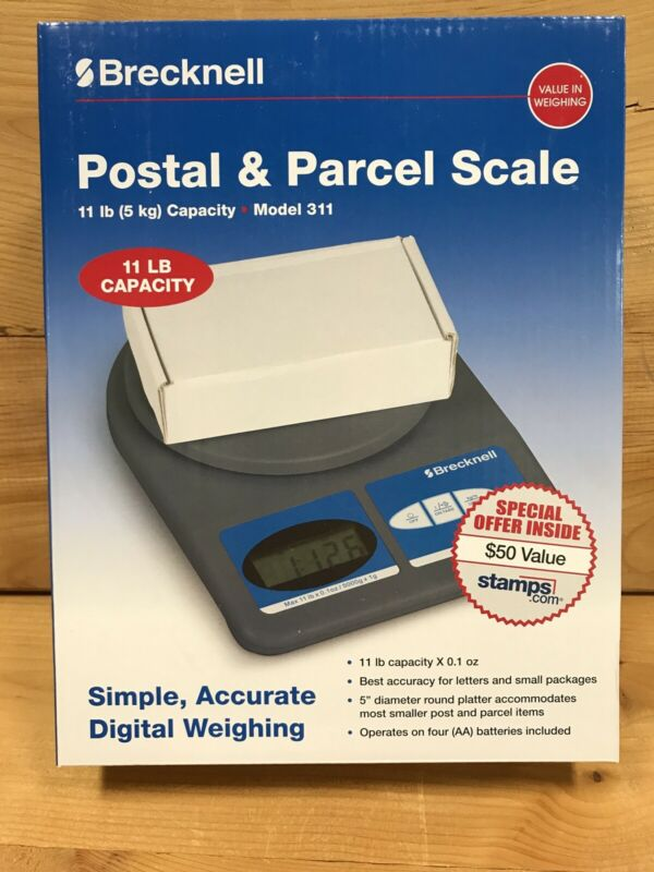 Salter Brecknell Model 311 -- 11 lb. Postal/Shipping Scale - SBW311