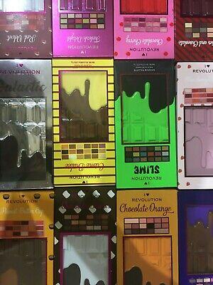 Revolution I Heart MakeUp Chocolate Bar Eyeshadow Palettes Boxed - UK Seller