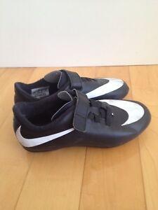 Nike size 1 Velcro soccer cleats