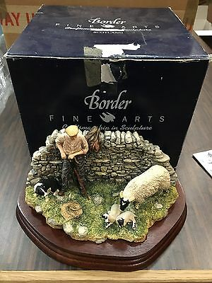 Border Fine Arts Safe Delivery sheep lamb limited ed. JH96