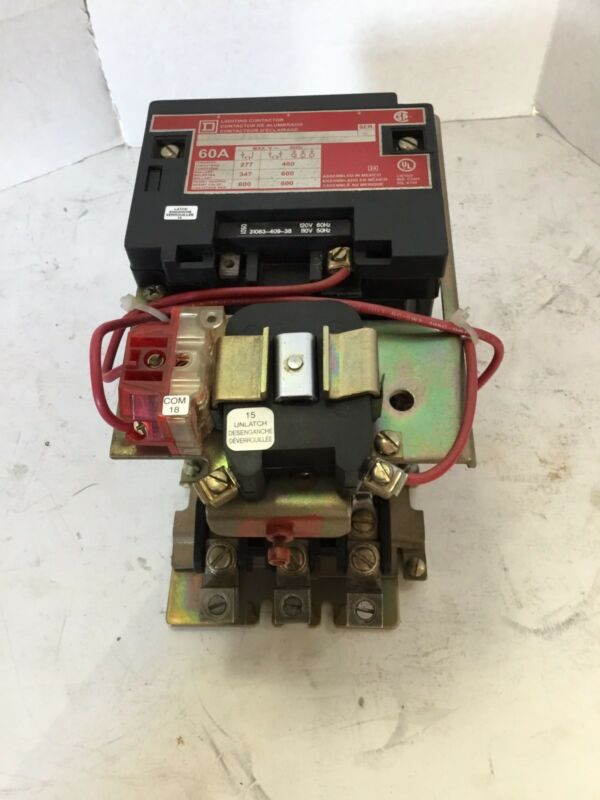 Sqare D 8903SPO11V02 Lighting Contactor