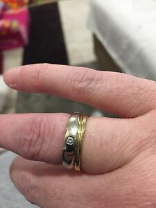 Custom white and yellow gold ring!!