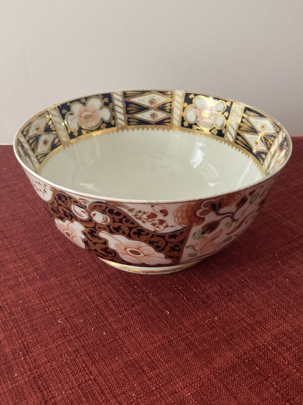 c. 1806-1825 Crown Derby Bowl Imari 6""