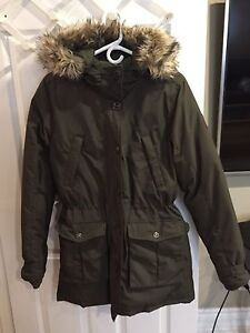 Roots down feather winter jacket