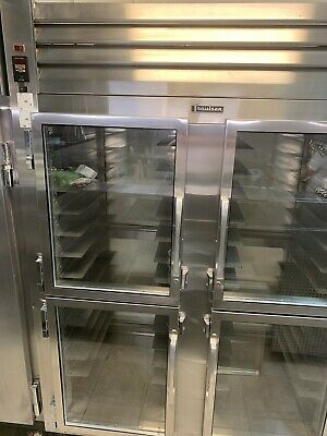 Traulsen Stainless Steel Half Door Two Section Heated Holding Cabinet
