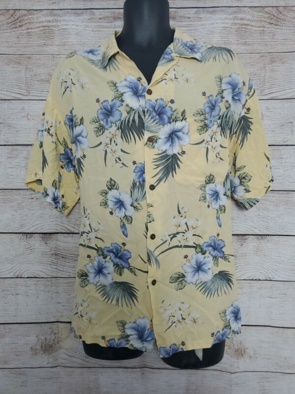 Vintage XL Iolani Rayon Hawaiian Shirt In Mint Condition