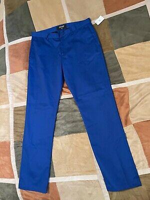 Noon Goons ocean blue industry chino pants 36 mens NEW