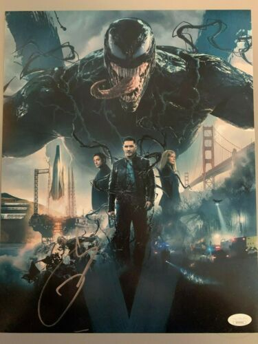 Tom Hardy Venom Autographed Signed 11x14 Photo JSA COA #3