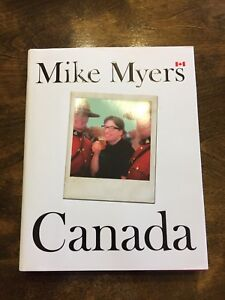 Mike Myers Canada book