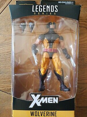 MARVEL LEGENDS X-MEN WOLVERINE JUGGERNAUT BAF WAVE no baf
