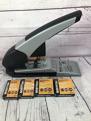 Bostitch Auto180 Xtreme Heavy Duty Stapler 180 Sheets B380hd And 3600 Staple