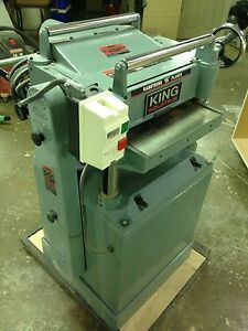 King 15 inch thickness planer