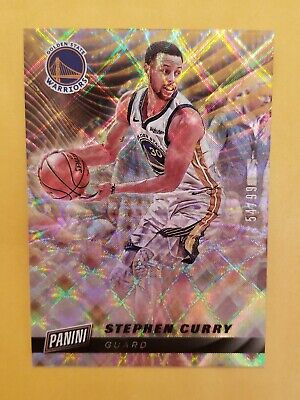 2019 Panini Cyber Monday Stephen Curry Prizm 54/99 Golden State Warriors