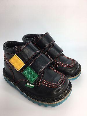 Boys Lego Kickers Shoes Boots Black UK 5 EUR 22 Childs Kids Childrens (AG) (Lego Boys Shoes)