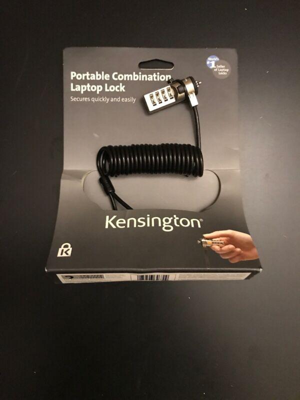 Brand New Kensington K64670US Portable Combination Laptop Lock 6FT Cord