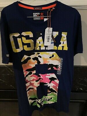 SuperDry Osaka T Shirt XL Men's - Rare!!!! NWT