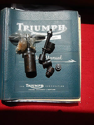 NOS Genuine Triumph camshafts pinions extractor and replacer with adaptors