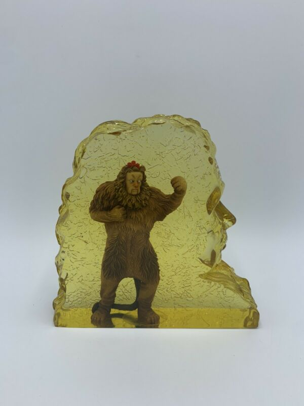 "WIZARD OF OZ "" Cowardly Lion "" WESTLAND Lucite Figure Resin Statue 17029"