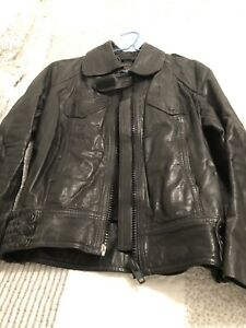 Youth/ Ladies Motorcycle Leather Jacket
